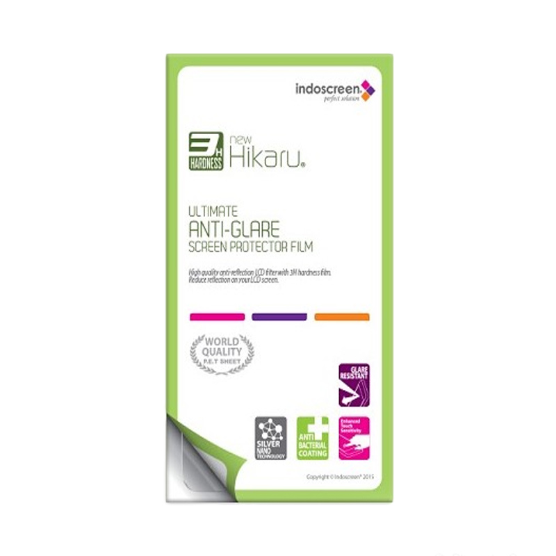Hikaru Shop Anti Glare Screen Protector for Nokia 206 Dual Sim - Clear