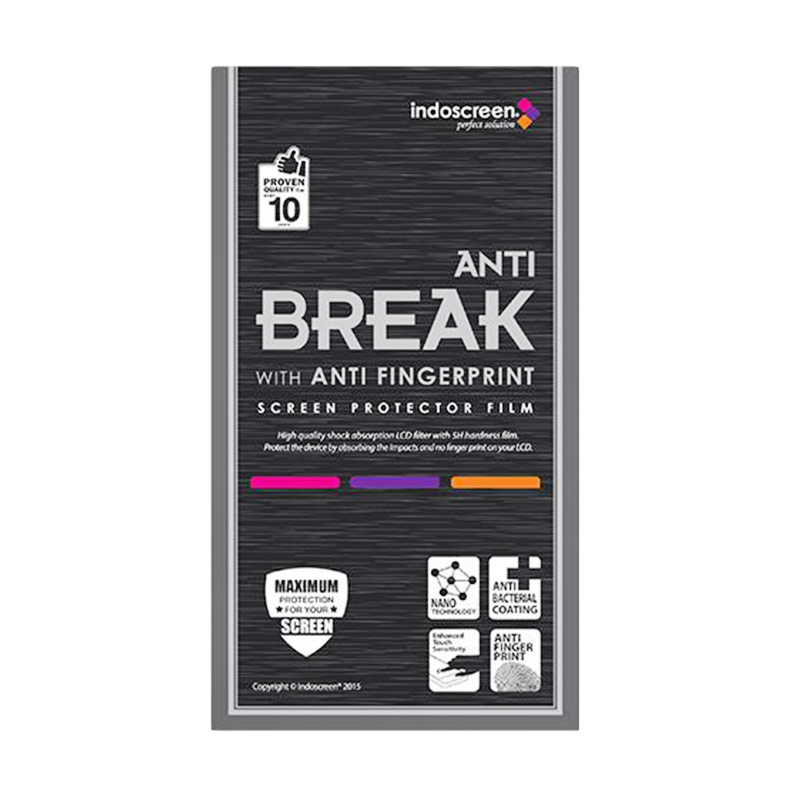 harga IndoScreen Anti Break Screen Protector for Apple iPad Mini - Clear Blibli.com