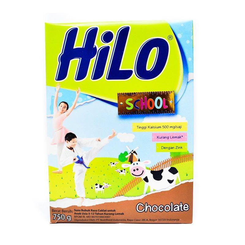 HiLo School Chocolate Susu Formula [750 gr]