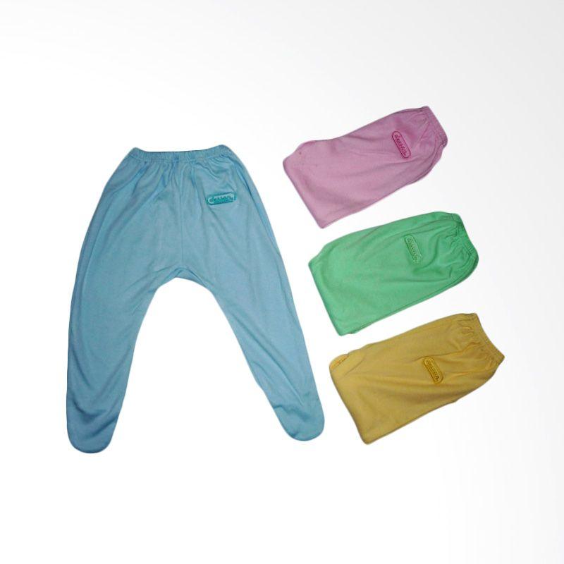 Dessan Newborn Panjang Multicolor Celana Bayi [4 Pcs]