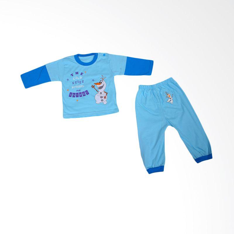 Dessan Olaf Baby Blue Jumpsuit Bayi
