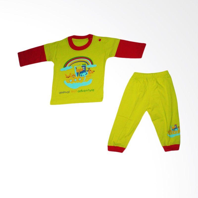 Dessan Rainbow Cute Kuning Jumpsuit Bayi