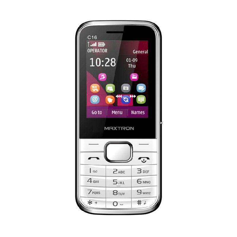 Maxtron C16 Handphone - Putih