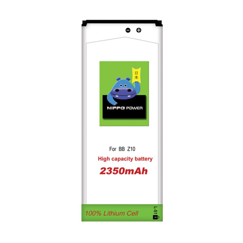 HIPPO Battery - BlackBerry Z10 2350 mAh White