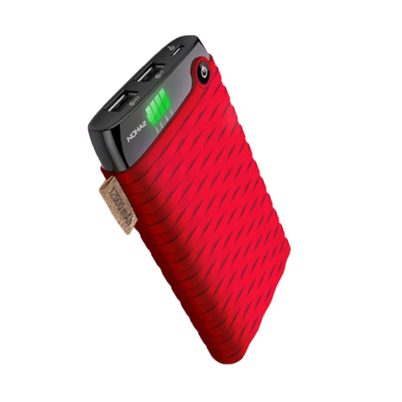 harga Hippo NOHA2 Value Pack Powerbank - Red [12000 mAh] Blibli.com