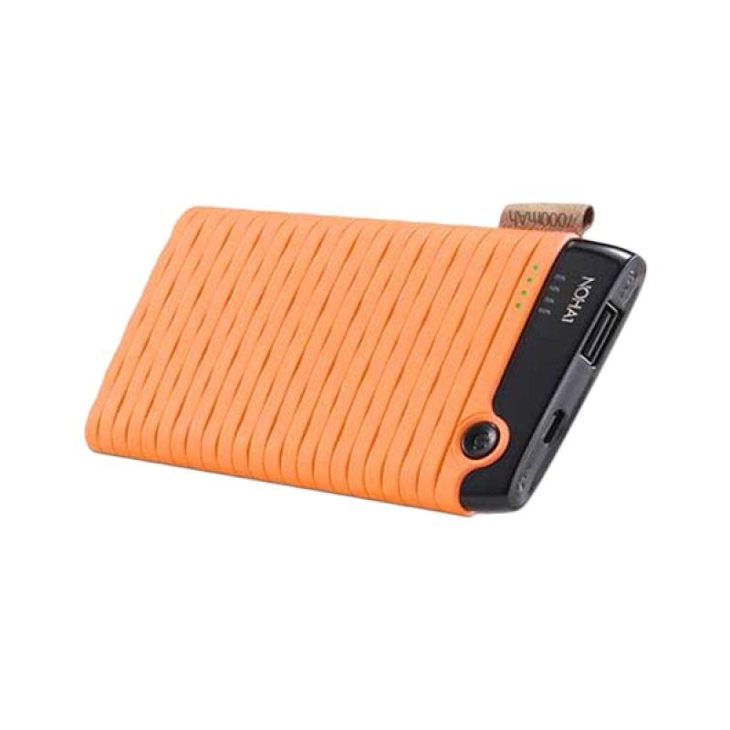 Hippo NOHA1 Orange Powerbank [7000 mAh/Full Pack]
