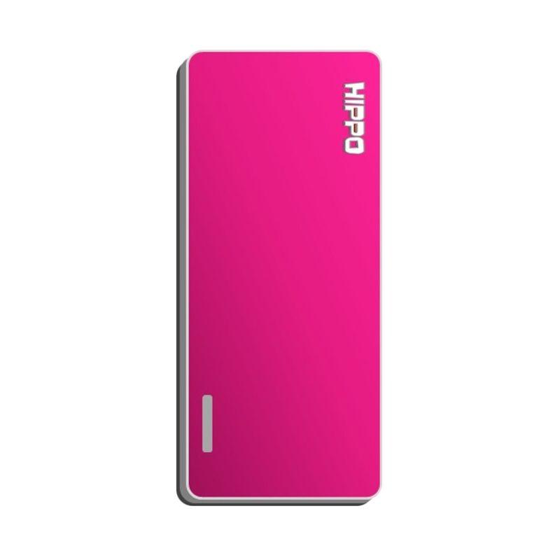Hippo Slick Power Bank - Pink [5000 mAh]
