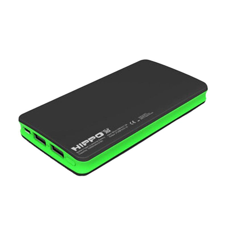 Hippo Slick Green Powerbank [10000 mAh]