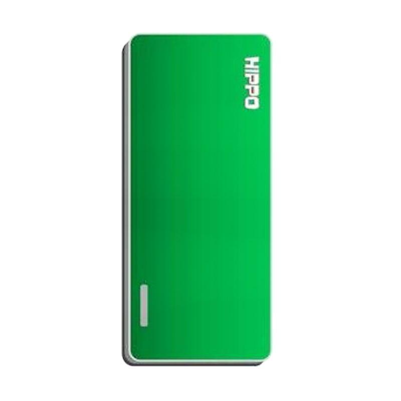Hippo Slick Green Powerbank [5000 mAh]