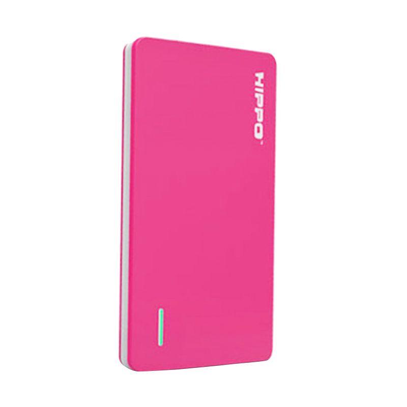 Hippo Slick Pink Powerbank [5000 mAh]
