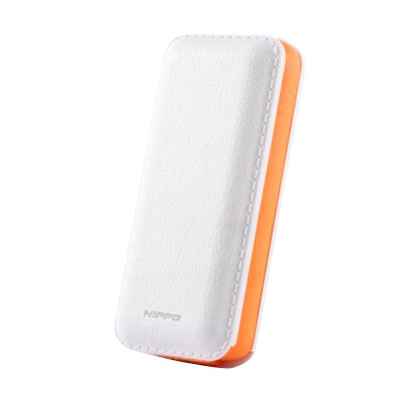 HIPPO Powerbank TWIST 5,600mAh - White (Simple Pack)