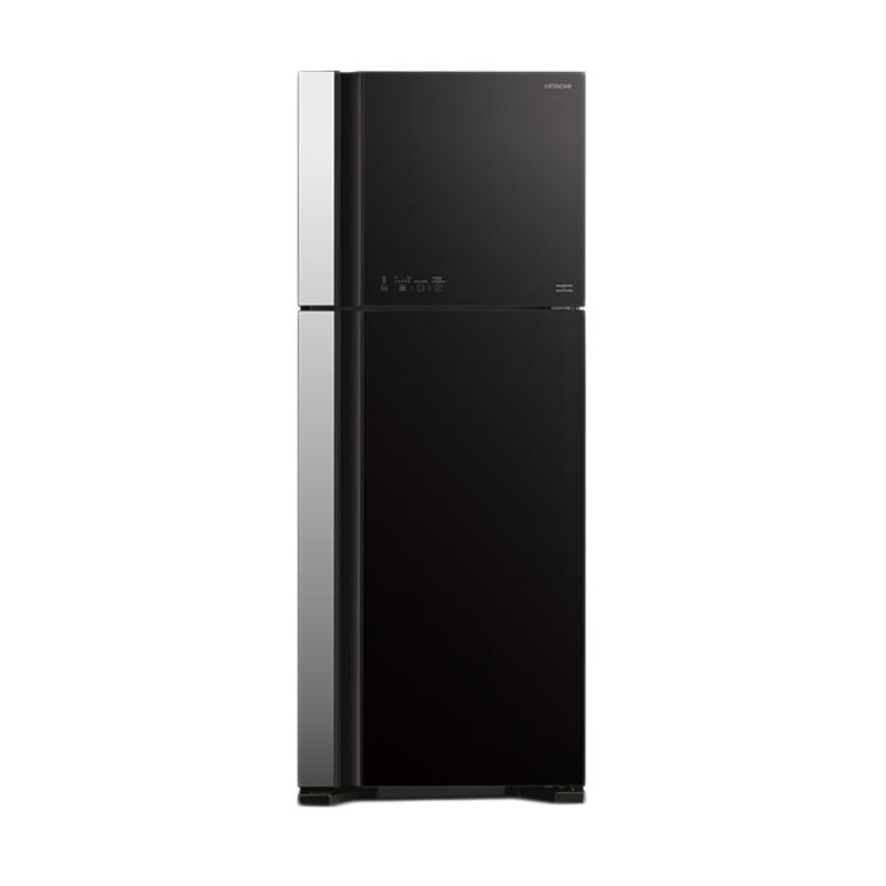 Hitachi Glass R-VG54PGD3 GGR Kulkas [2 Pintu]