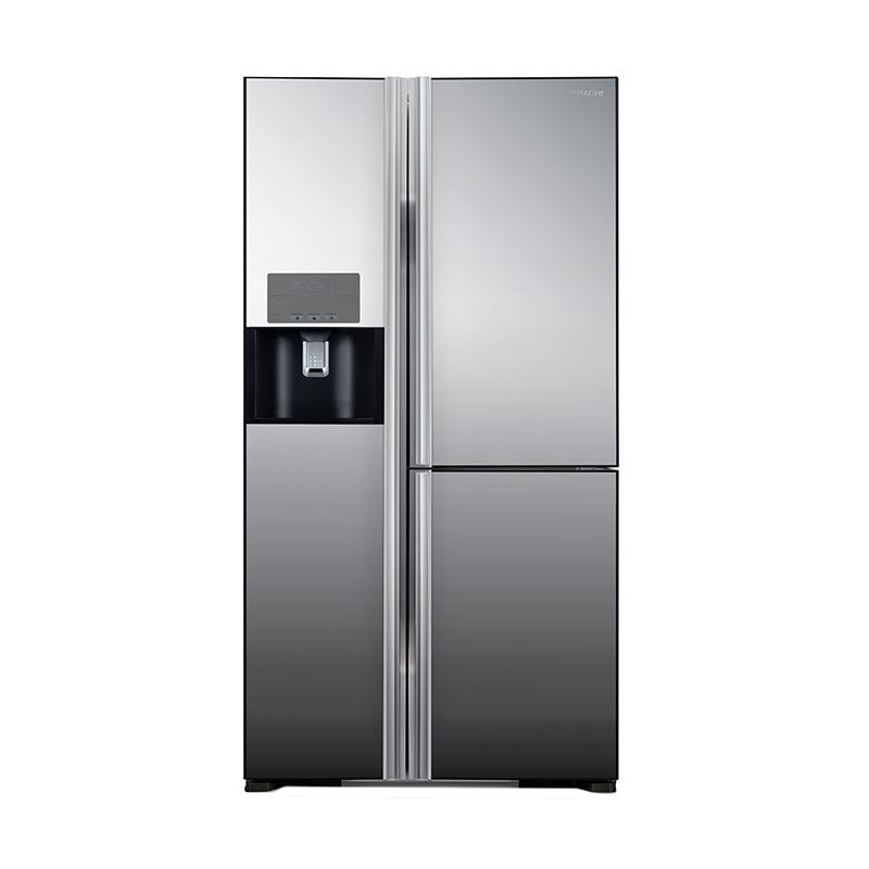 harga Hitachi RM80GPGD2XMIRR Refrigerator [Multi Door] Blibli.com