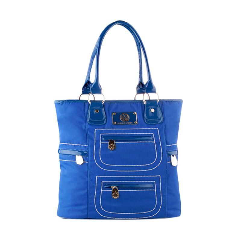 Nana Blanche QQ BEAR Fashion 158-5 Blue Tas Tangan