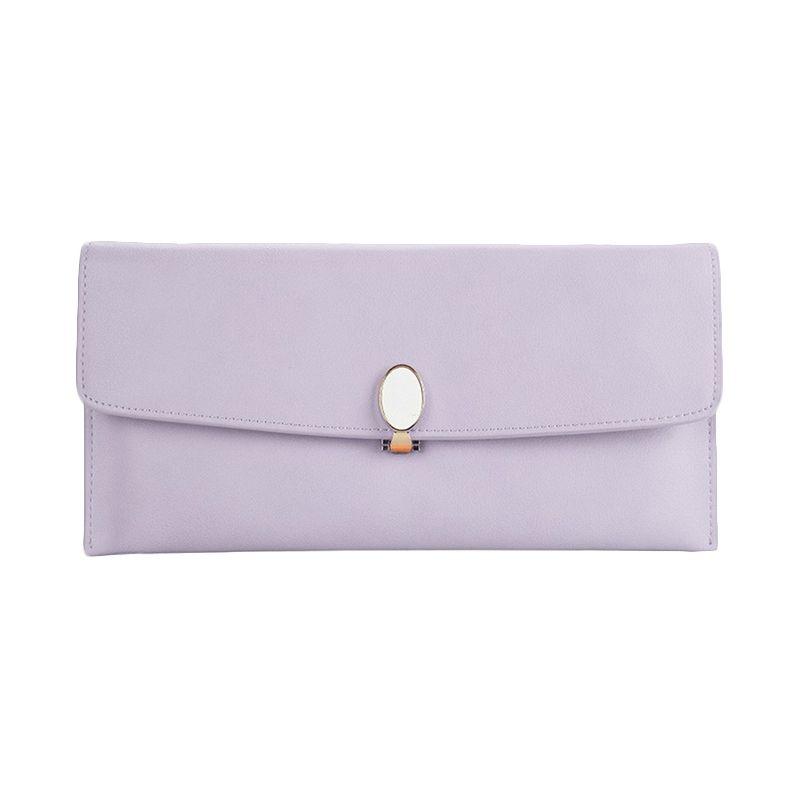 Yadas Korea Clutch 898-14 Purple Dompet Wanita