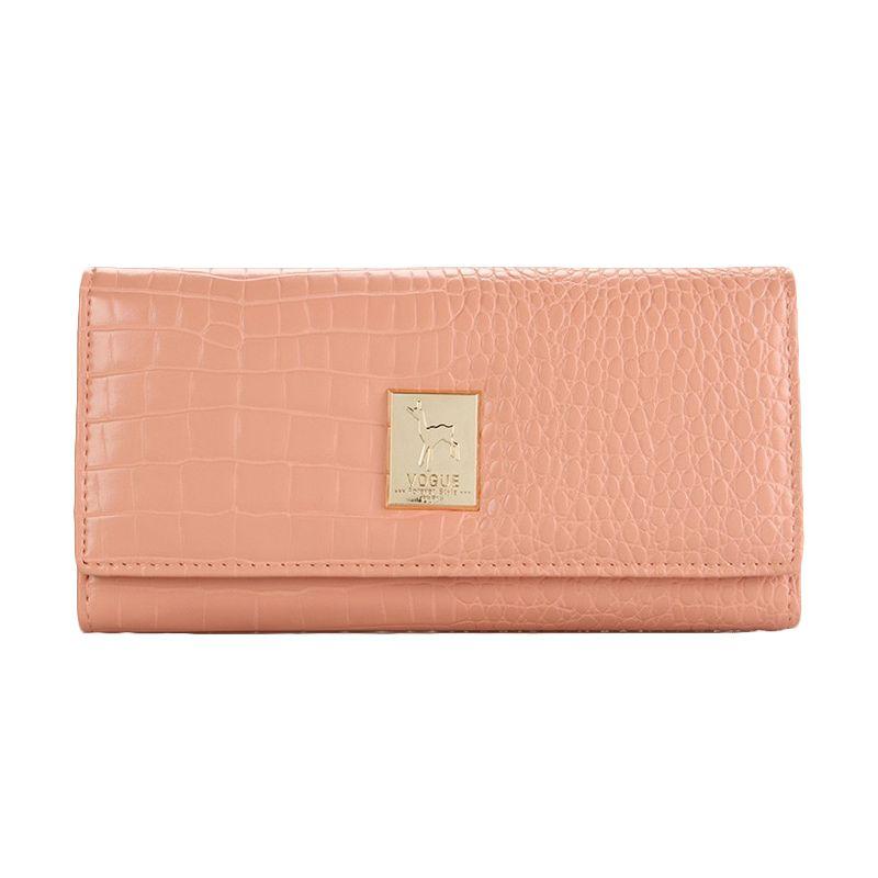 Yadas Korea Wallet 6805-343 Pale Pink Dompet Wanita