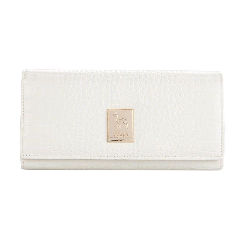 Yadas Korea Wallet 6805-343 White Dompet Wanita