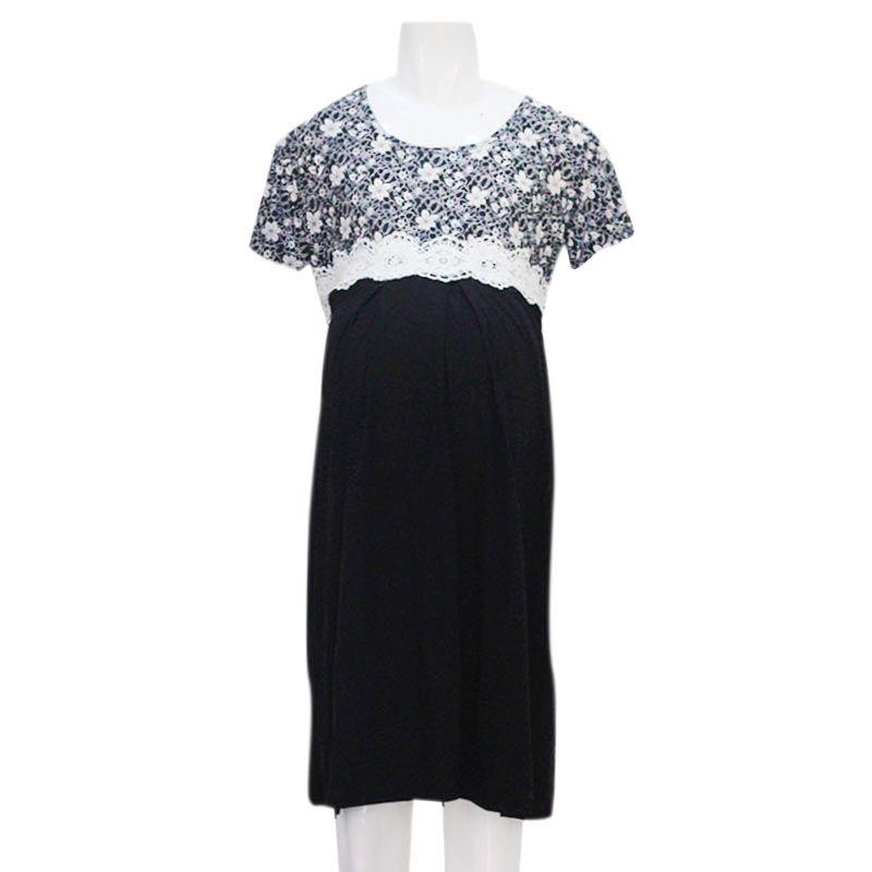 HMILL 899 Hitam Dress Hamil