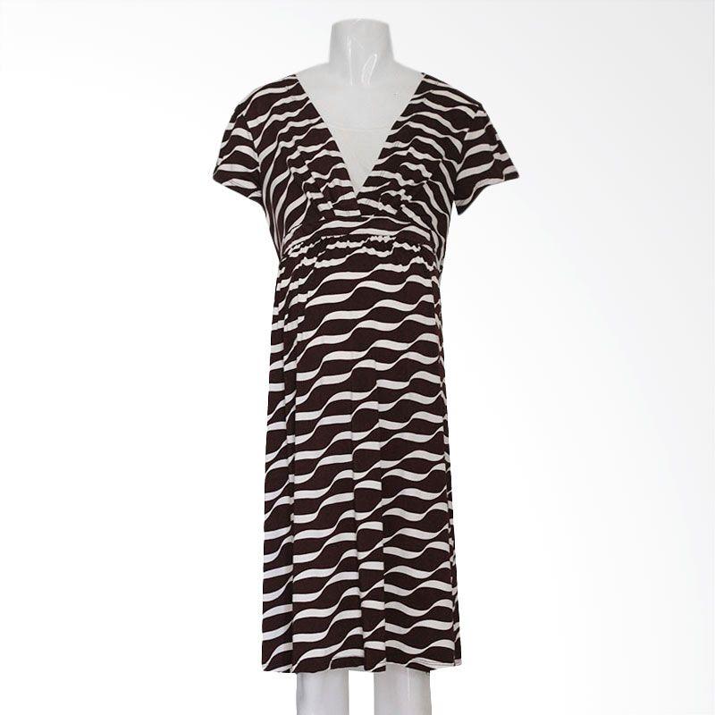 HMILL 897 Coklat Dress Hamil
