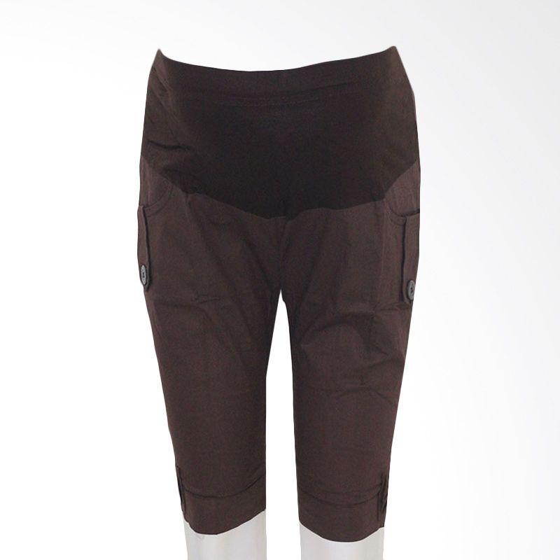 HMILL 205 Coklat Celana Hamil