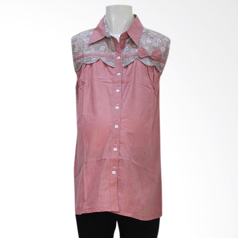 HMILL Blouse 1155 Pink Baju Hamil