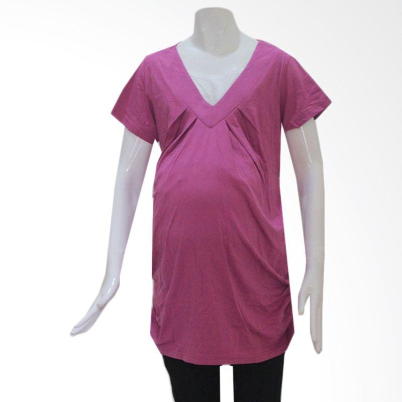 HMILL Blouse 935 Pink Keunguan Baju Hamil