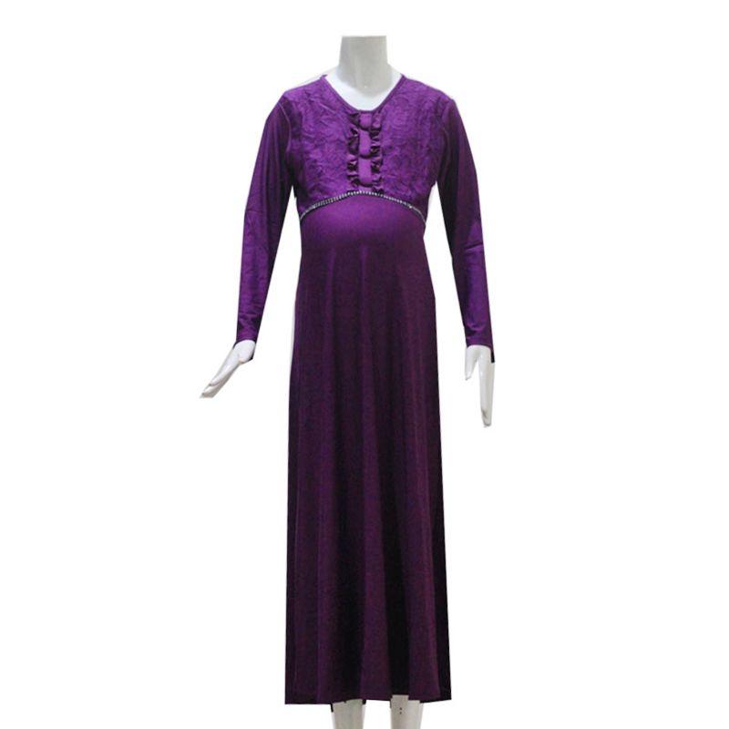 HMILL 833 Ungu Dress Hamil