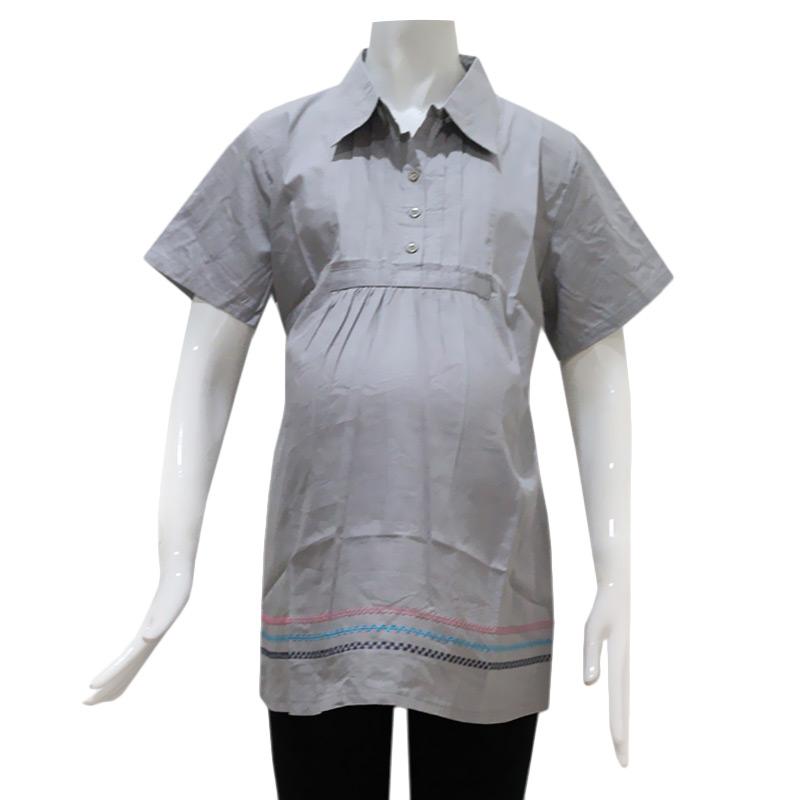harga HMILL Blus 1300 Baju Kerja Hamil - Abu Blibli.com