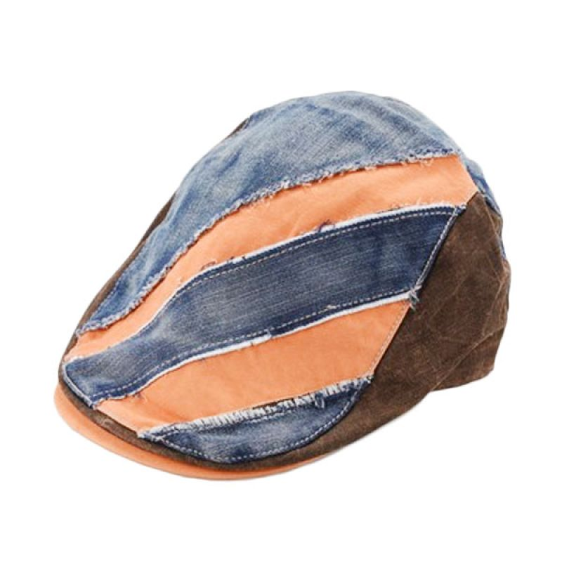 New Chapter Gatsby Caps Denim Orange