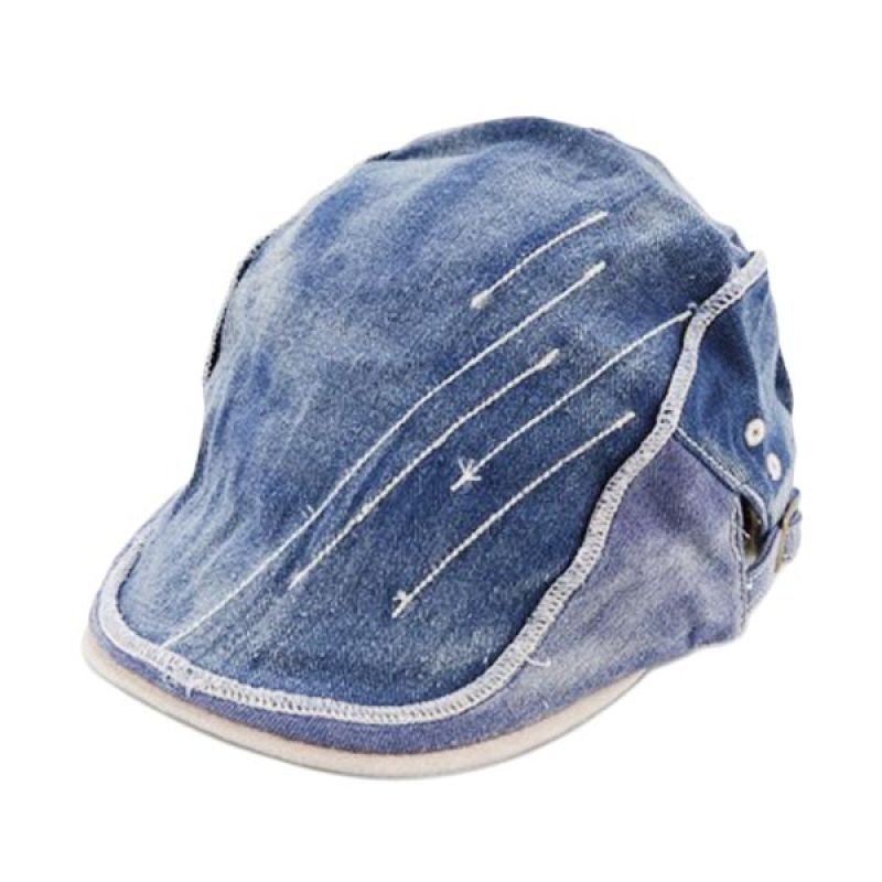 New Chapter Newsboy Caps Denim White
