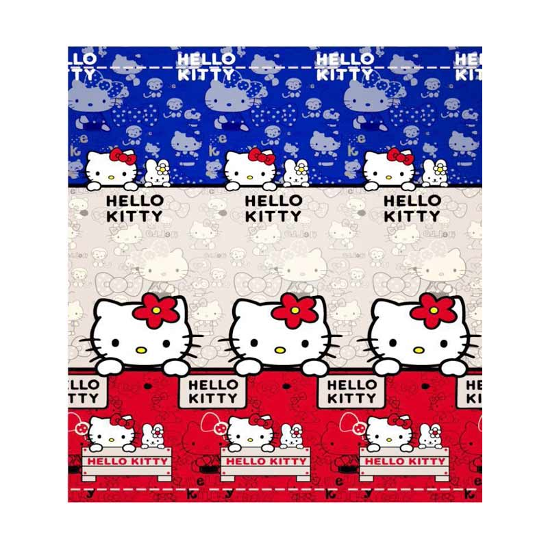 Home-Klik Hello Kitty New Selimut Bulu Halus [140 x 200 cm]