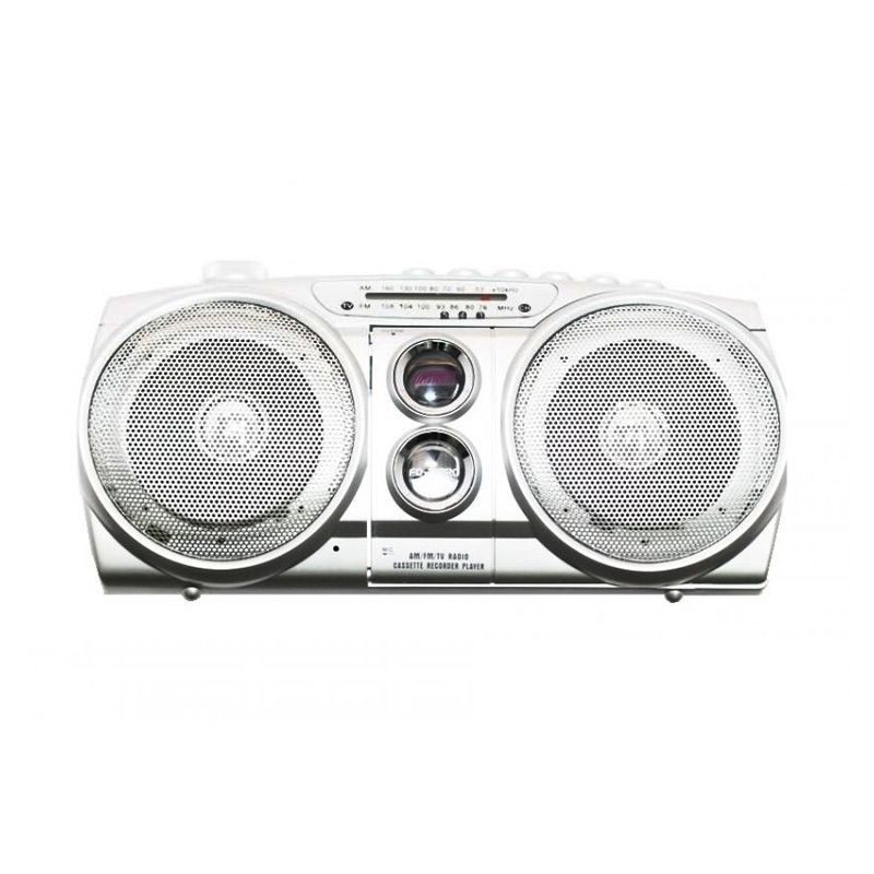 Fudai FD-218RC Silver Radio dan Cassette Player