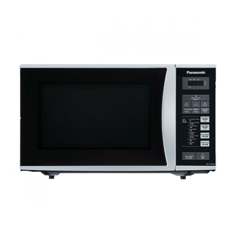 harga Panasonic NN-ST342MTTE Silver Hitam Microwave Blibli.com
