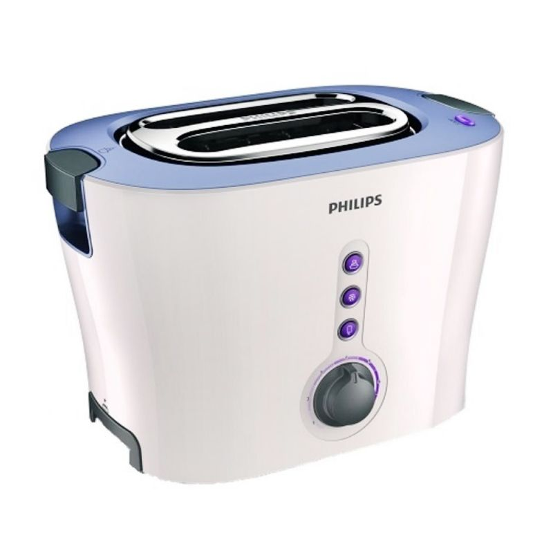 Philips HD-2630 Putih Ungu Toaster