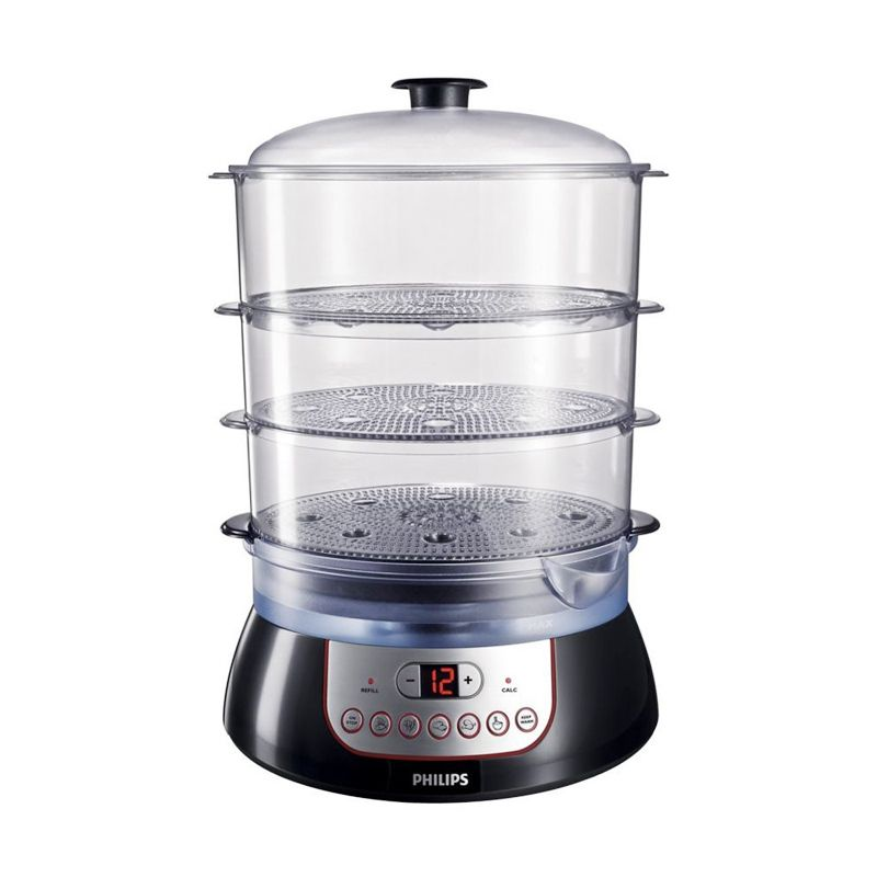Philips HD 9140 Hitam Food Steamer