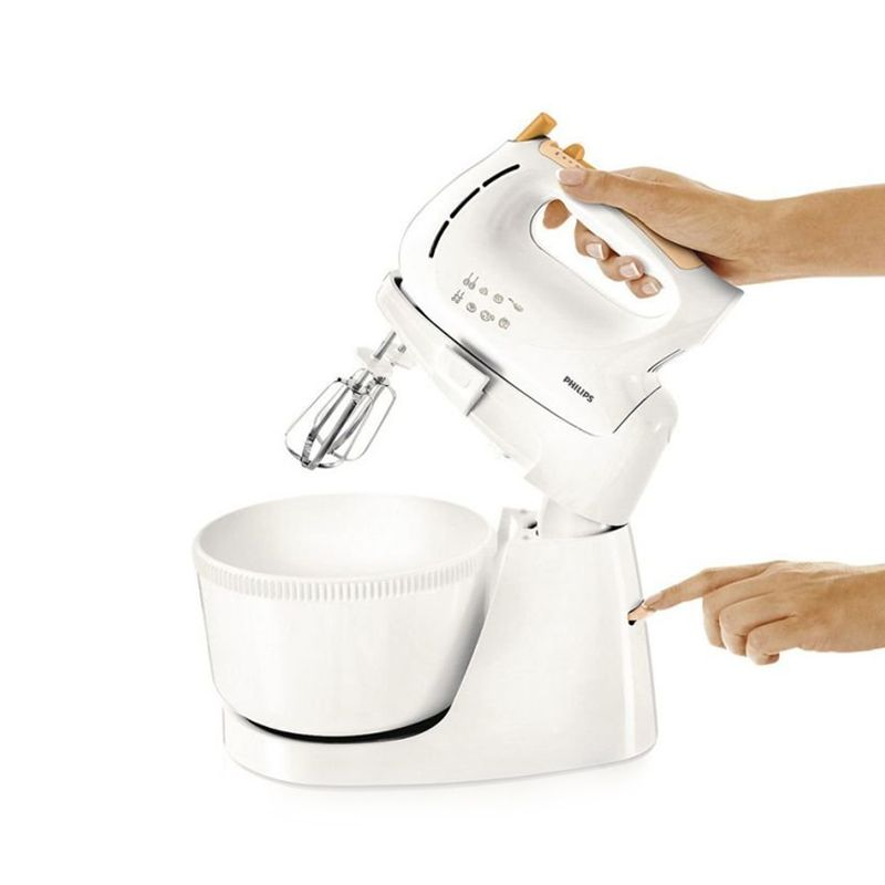 Philips HR1538-80 Putih Oranye Mixer