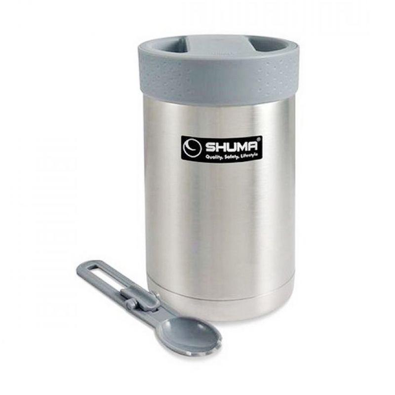 Shuma SHMF-0350 Silver Mini Vacuum Food Jar [350 mL]