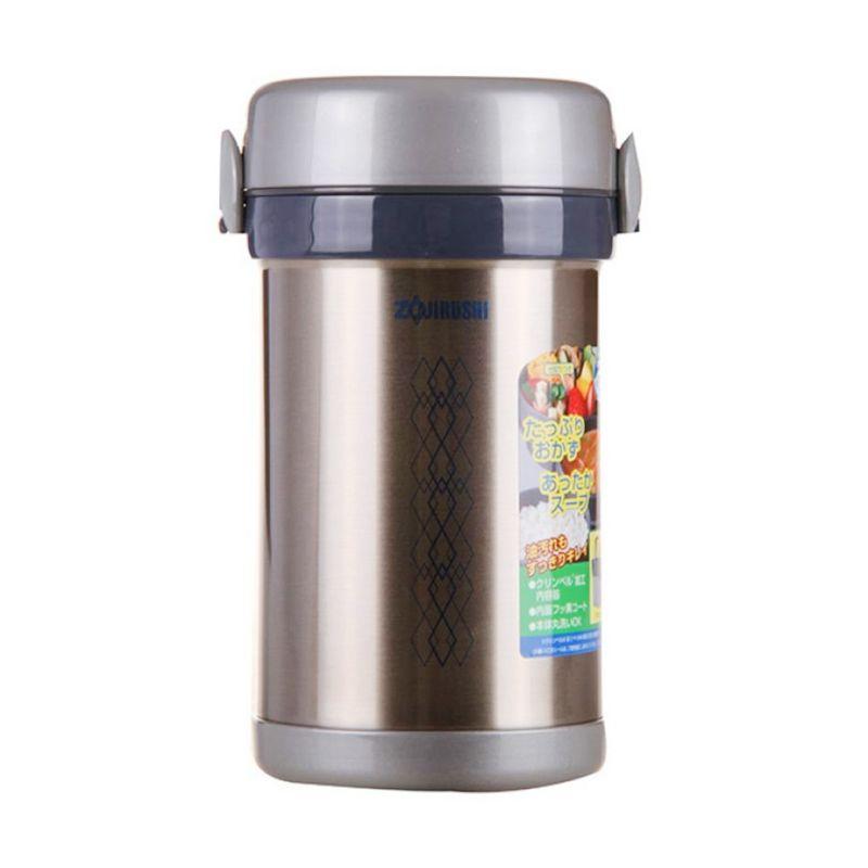 Zojirushi SL-NC09-ST Silver Vacuum Lunch Box