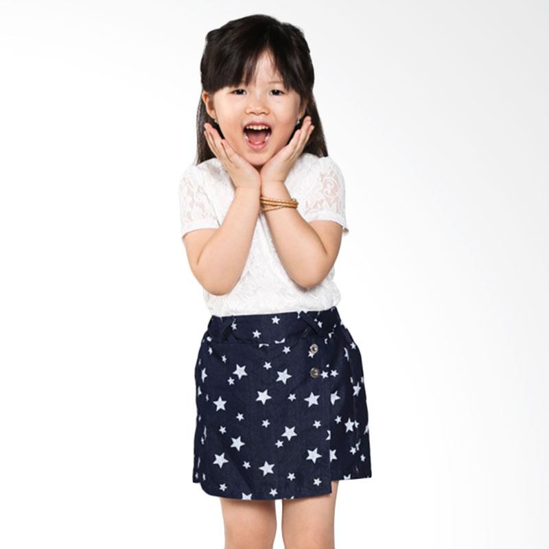 Homy Kids Denim Motif WG020 Rok Celana