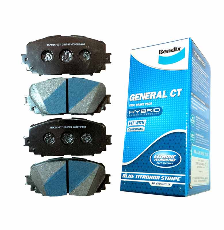 Bendix DB1268 Front Brake Pad for Accord VTIL 2.4 1999-2004
