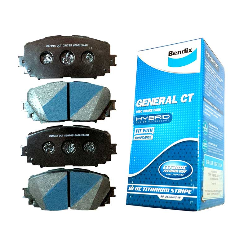 Bendix DB1286 Disc Brake Pads for New Jazz 2008-Now, All New City 2008-Now, Mobilio, Stream 1.7, Civic 2000-2004, Ferio Front