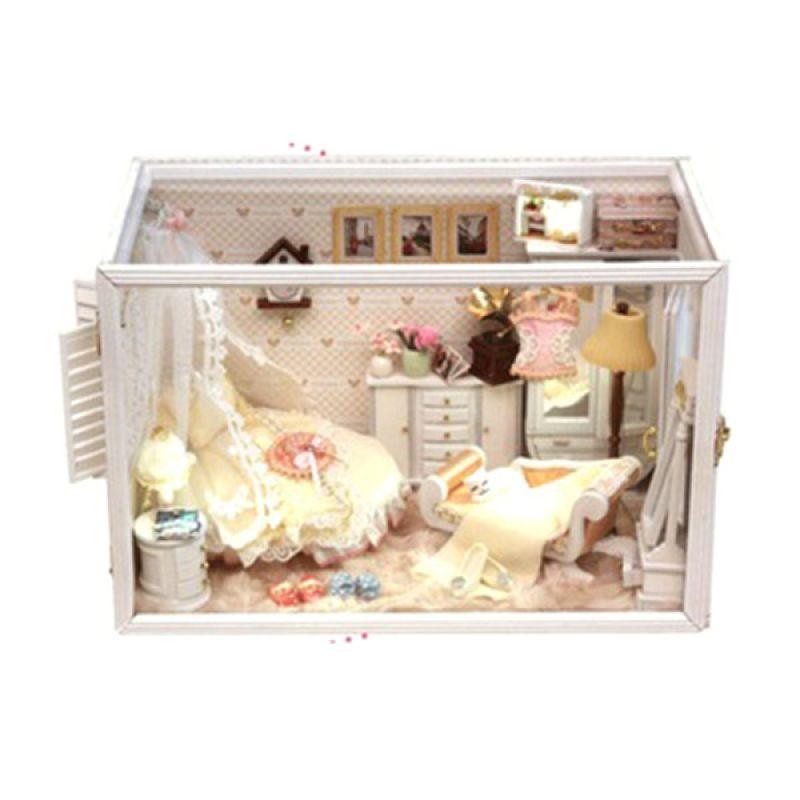 Hongda Mainan Rumah Miniatur Diyart & Craft Perfect Flower Married