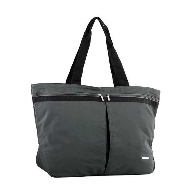 David Jones Paris 3535-3 Dark Grey Tote Bag Tas Tangan