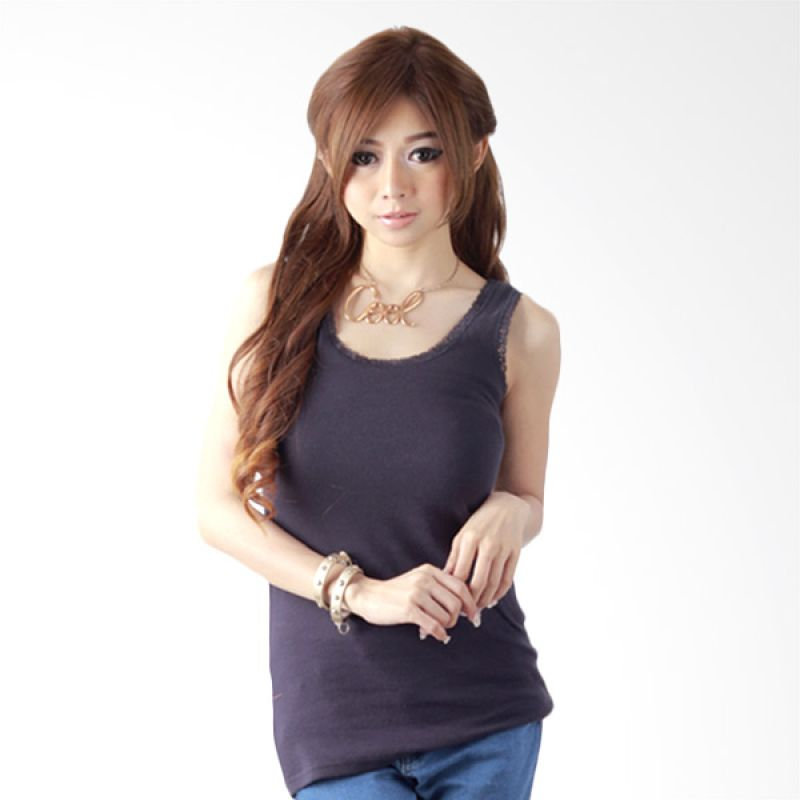 Nana Blanche Fashion NBAR 18396 Dark Blue Tank Top