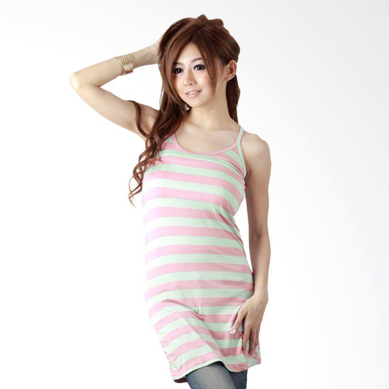 Nana Blanche Fashion NBAR 18220 Pink Tank Top