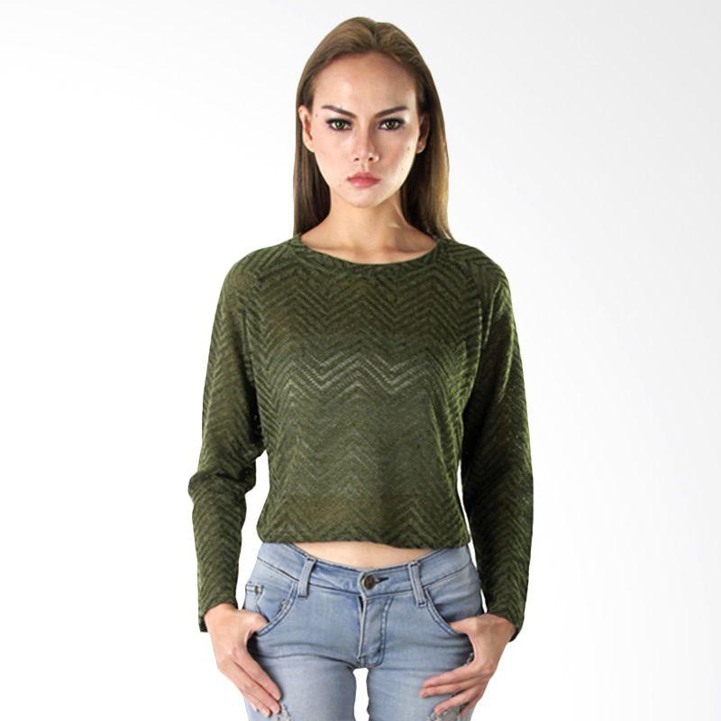 Nana Blanche Fashion NBVA 7001 Hijau Blouse