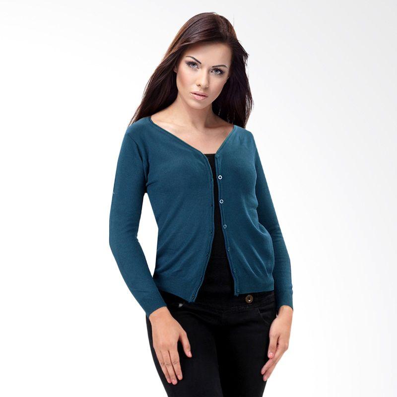 Nana Blanche Fashion NBXJ 0135 Navy Blue Cardigan