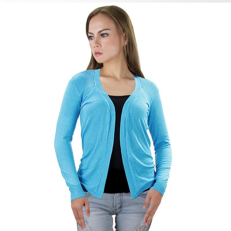 Nana Blanche Fashion NBXJ 072 Light Blue Cardigan