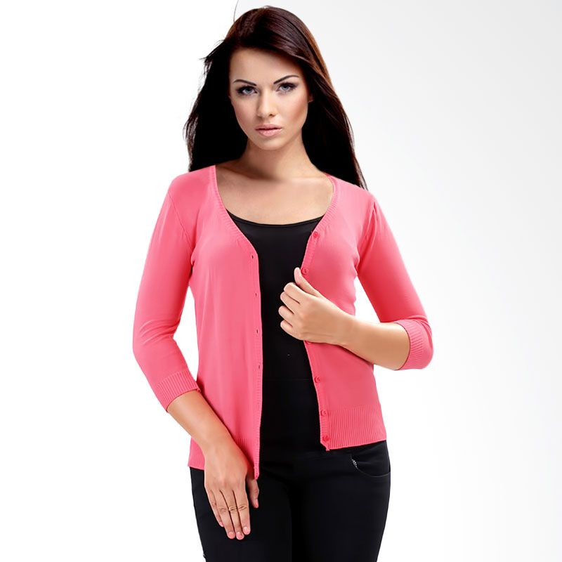 Nana Blanche Fashion NBXJ 619-1 Rose Cardigan