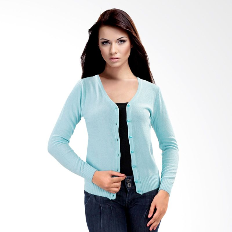 Nana Blanche Fashion NBXJ 829 Aqua Cardigan